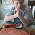 Lance turns 12!